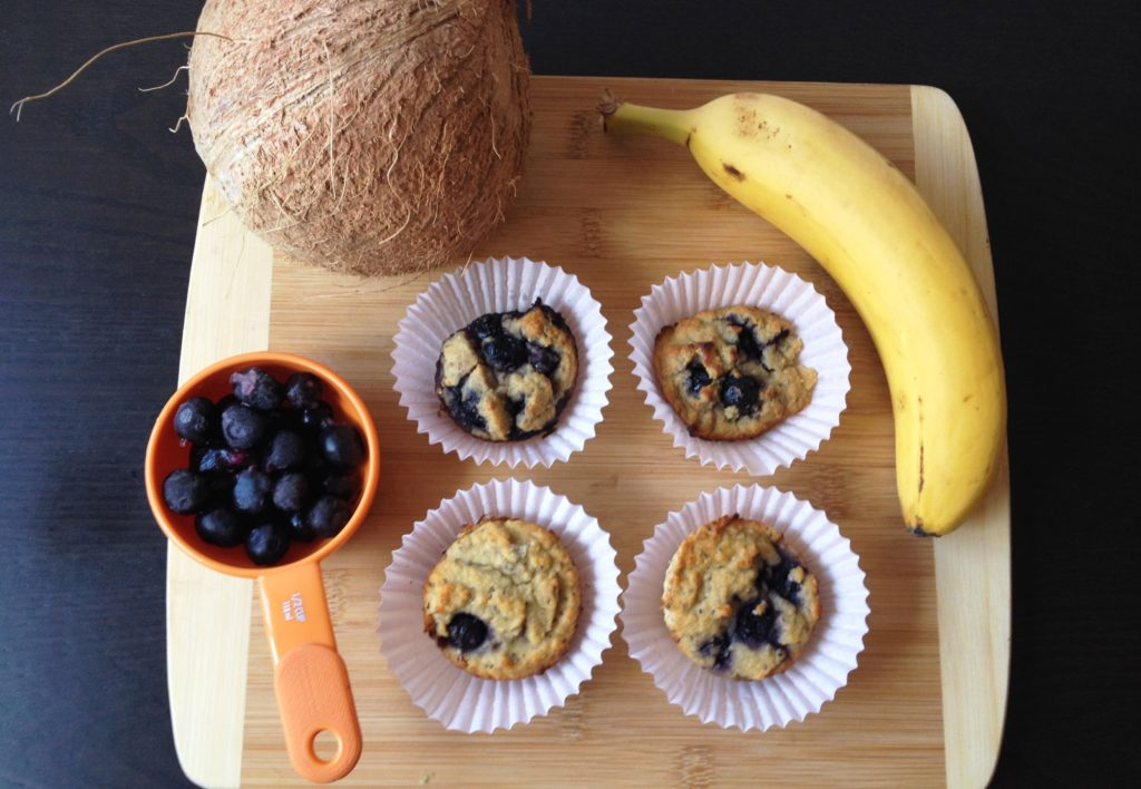 Honey Coconut Blueberry Bran Muffins Recipes — Dishmaps